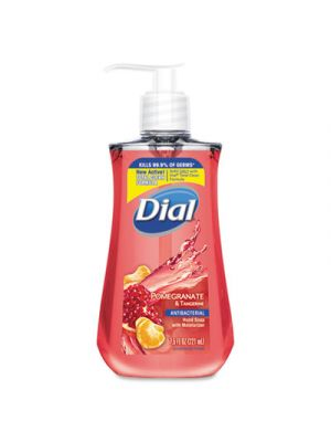 Antimicrobial Liquid Soap, 7 1/2 oz Pump Bottle, Pomegranate & Tangerine, 12/CT