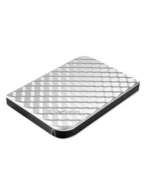 Store N Go Portable Hard Drive, USB 3.0, 1 TB, Diamond Silver