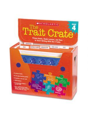 Trait Crate, Grade 4, Seven Books, Posters, Folders, Transparencies, Stickers