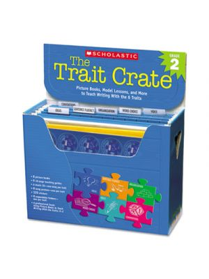 Trait Crate, Grade 2, Six Books, Learning Guide, CD, More