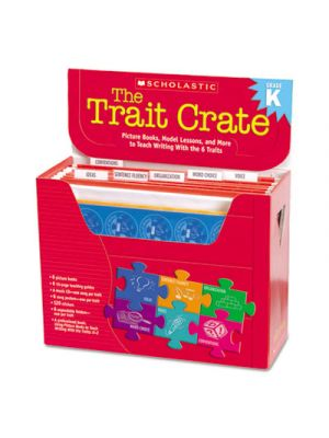 Trait Crate, Kindergarten, Six Books, Learning Guide, CD, More