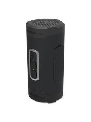 boomBOTTLE H2O+ Rugged Waterproof Wireless Speaker, Black/Gray