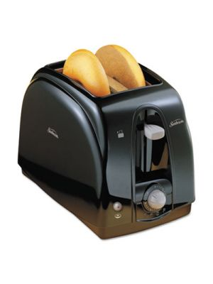Extra Wide Slot Toaster, 2-Slice, 7 x 11 1/2 x 7.8, Black