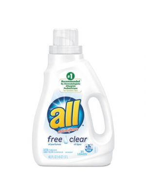 Free Clear HE Liquid Laundry Detergent, 50 oz Bottle