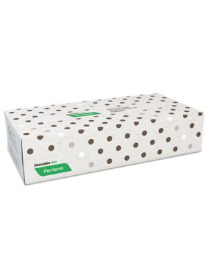 Perform Facial Tissue, 2-Ply, Beige, 8 1/2