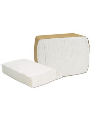 Select Full Fold II Napkins, 1-Ply, 6 1/2 x 12, 375/Pack, 24/Carton