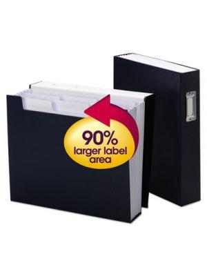 Book Shelf Organizer with SuperTab; 6 Pockets; 2 1/2