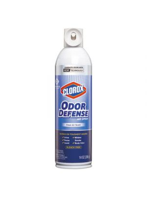 Commercial Solutions Odor Defense, Clean Air,14oz Aerosol,12/Carton