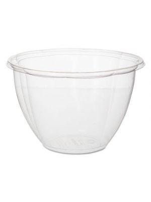 Salad Bowls, Clear, 48 oz, 6 11/16
