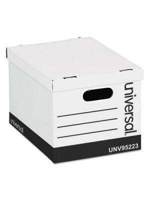 Economy Storage Box; Lift-Off Lid; Letter/Legal. White; 12/Ct