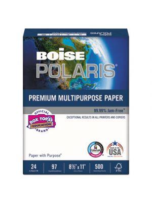 POLARIS Premium Multipurpose Paper, 8 1/2 x 11, 20lb, White, 5000/CT