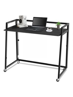 Quick Assemble Computer Workstation, Espresso/Black