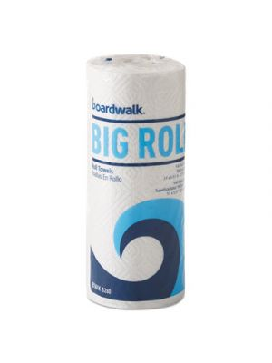 Office Packs Perforated Paper Towel Rolls, 2-Ply, White, 5.5