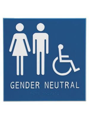 Gender Neutral ADA Signs, 8
