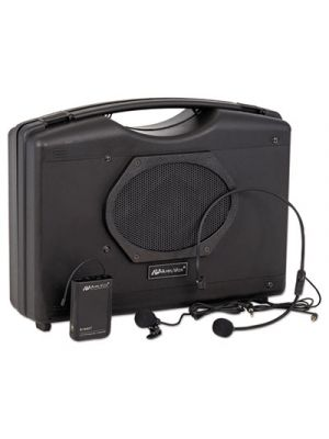 Bluetooth Audio Portable Buddy with Wireless Handsfree Mic, 50W, Black