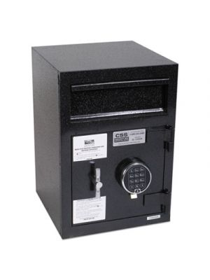 Depository Security Safe, 14 x 15 1/2 x 20, Black