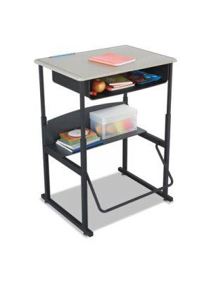 Alphabetter Desks With Book Box, 28 x 20 x 42, Beige