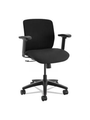 ComfortSelect K3 Mid-Back Task Chair, Black, Fabric