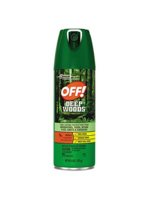 Deep Woods Insect Repellent, 6oz Aerosol, 12/Carton