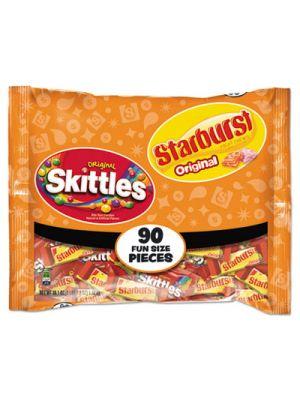 Skittles/Starburst Fun Size, Variety, Individually Wrapped