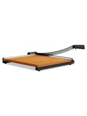Square Commercial Grade Wood Base Guillotine Trimmer, 15 Sheets, 18