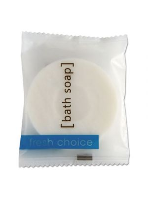 Soap,  Bar, Round White, 23 gr, 500/Carton