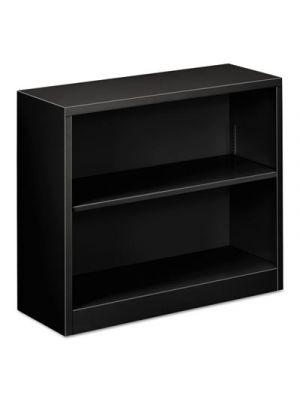 Steel Bookcase, 2-Shelf, 34.5