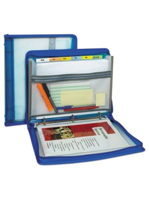 Zippered Binder with Expanding File, 10.88
