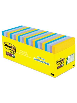 Pads in New York Colors Notes, 3 x 3, 70-Sheet, 24/Pack