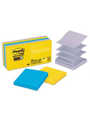 Pop-up 3 x 3 Note Refill, New York, 90 Notes/Pad, 10 Pads/Pack
