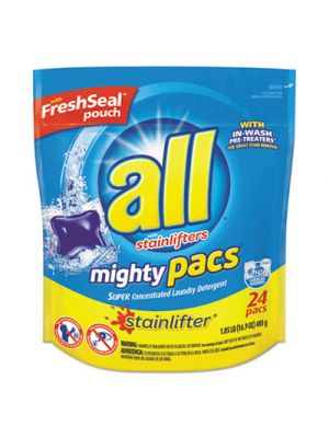 All Mighty Pacs, Liquid Pac, 24 Tabs per Packet, 6 Packet/Carton