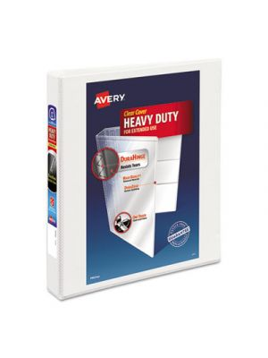 Heavy-Duty View Binder w/Locking 1-Touch EZD Rings, 1
