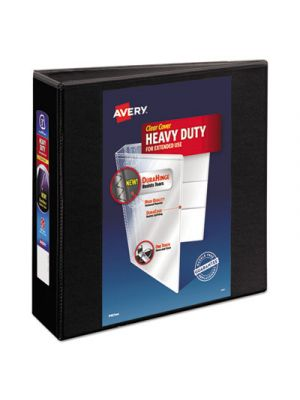 Heavy-Duty View Binder w/Locking 1-Touch EZD Rings, 3