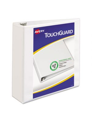 Touchguard Protection Heavy-Duty View Binders w/Slant Rings, 3