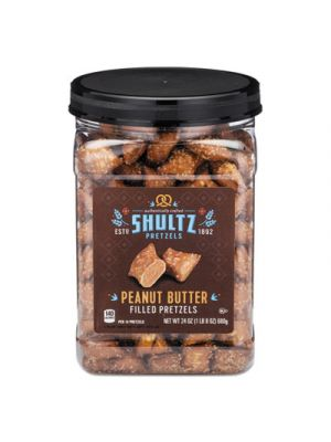 Pretzels, Peanut Butter, Tub, 1.5 oz