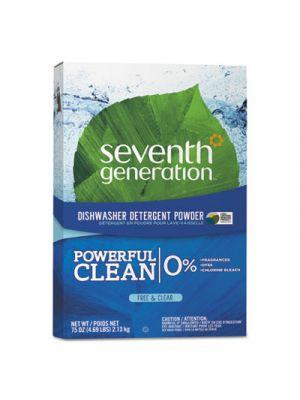 Natural Automatic Dishwasher Powder, Free & Clear, Jumbo 75oz Box
