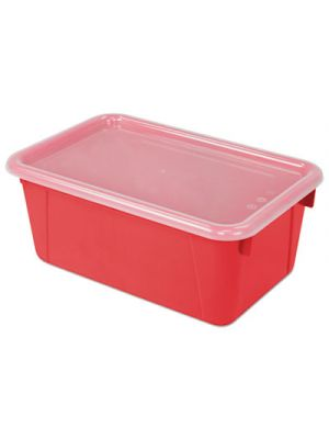 Cubby Bins, 12.2 x 7.8 x 5.1, Red, 6/PK