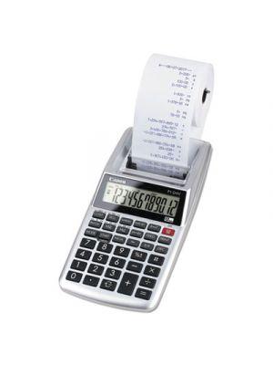 P1-DHV 12-Digit Palm Printing Calculator, Purple Print, 2 Lines/Sec