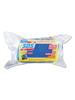 All Surface Scrubber Sponge, 2 1/2 x 4 1/2, 0.9