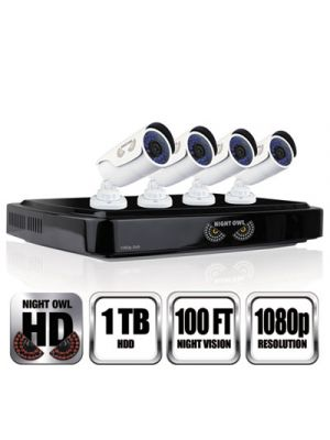 8 Channel 1080p HD Video Security DVR, 1080p Resolution