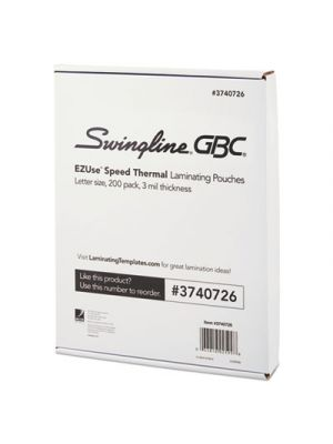EZUse Thermal Laminating Speed Pouches, 3mil, 11 1/2 x 9, 200/Pack