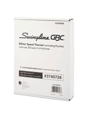 EZUse Thermal Laminating Speed Pouches, 5mil, 11 1/2 x 9, 200/Pack