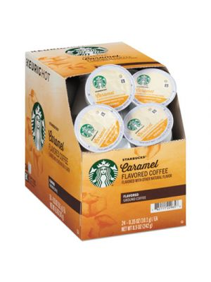 Breakfast Blend K-Cups, Caramel, K-Cup, 24/Box