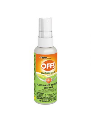 Botanicals Insect Repellant, 4 oz Bottle, 8/Carton
