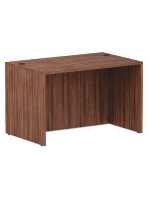 Alera Valencia Series Straight Front Desk Shell, 47.25x29.5x29.63, Mod Walnut