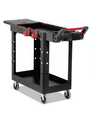Heavy Duty Adaptable Utility Cart, 2 Shelves, 17.8
