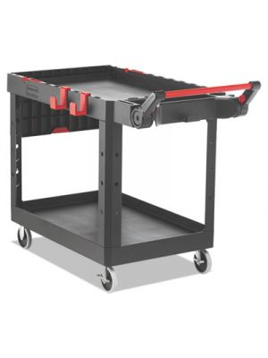 Heavy Duty Adaptable Utility Cart, 2 Shelves, 25.2