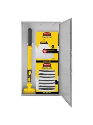 Spill Mop Storage Cabinet, 15
