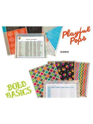 Playful Pops and Bold Basics Zip 'N Go Reusable Envelope, 13.13