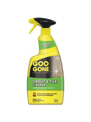 Grout and Tile Cleaner, Citrus Scent, 28 oz Trigger Spray Bottle, 6/CT